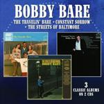 Bobby Bare - Travelin Bare / Constant Sorrow / The Streets Of Baltimore (2CD Set)